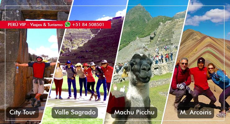 Machupicchu Cusco 5 dias 4 noches Peru vip